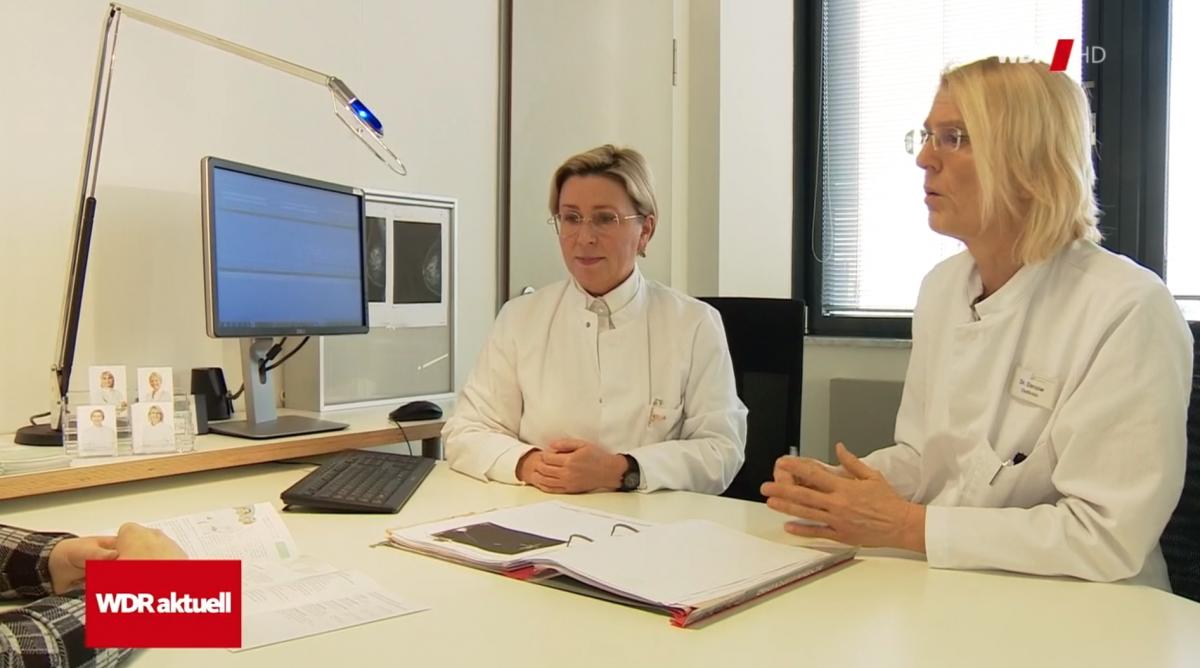 Dr. Möller und Dr. Darsow im WDR