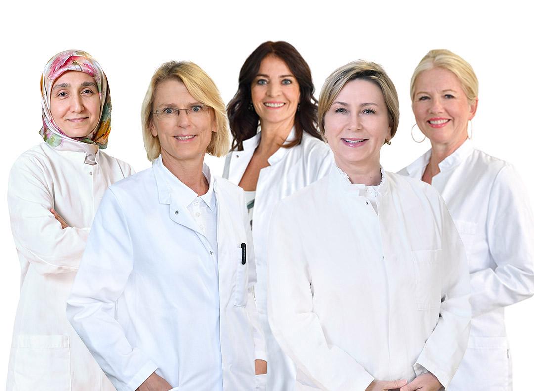 Ärztinnen im Luisenkrankenhaus Düsseldorf
